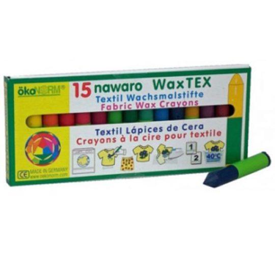 Crayons à la cire pour textile - Okonorm