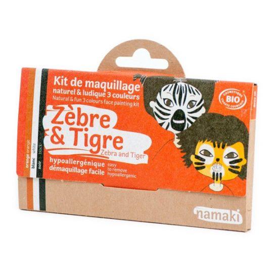Kit de maquillage bio 3 couleurs - Namaki