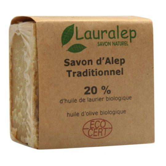 Savon d'Alep Traditionnel - 200gr - Lauralep