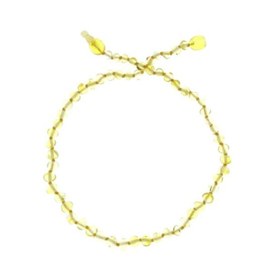 Collier d'ambre «coloris citrus» - Baltic Way