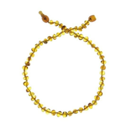 Collier d'ambre «coloris honey» - Baltic Way
