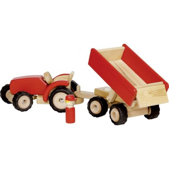 Tracteur avec remorque - Goki