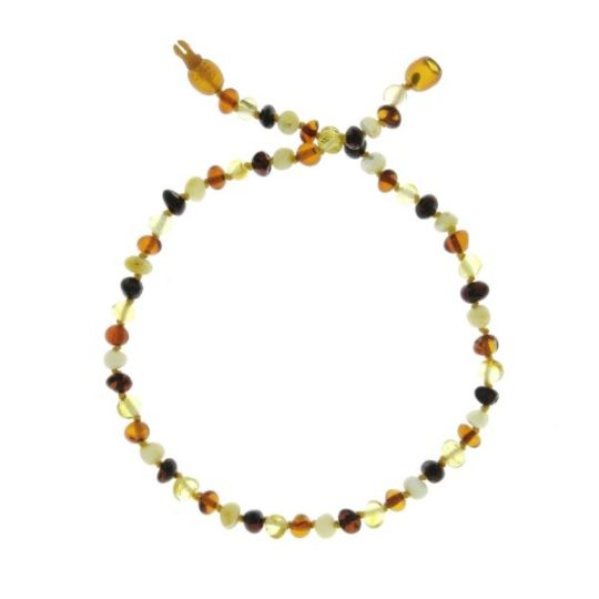 Collier d'ambre «coloris mix» - Baltic Way