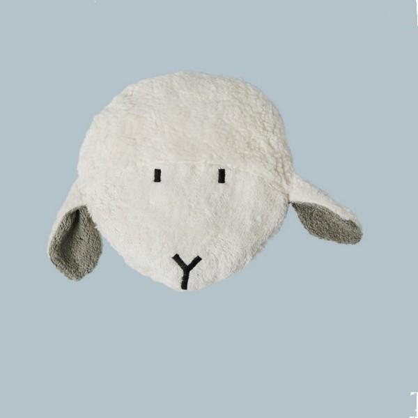 Bouillotte en noyaux de cerises Tête de mouton