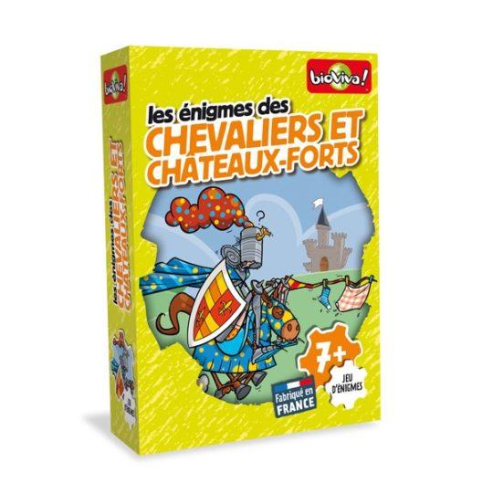 Les Enigmes des Chevaliers et Châteaux-forts - Bioviva