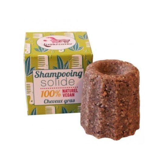 Shampooing solide cheveux gras à la litsée citronnée - Lamazuna