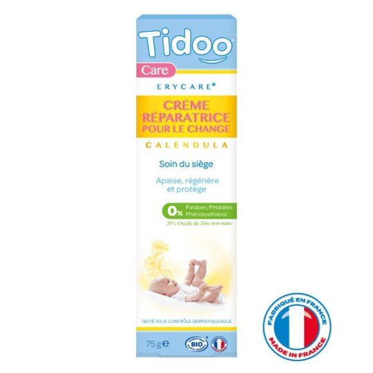Crème Réparatrice Bio Erycare Zinc et Calendula 75g - Tidoo