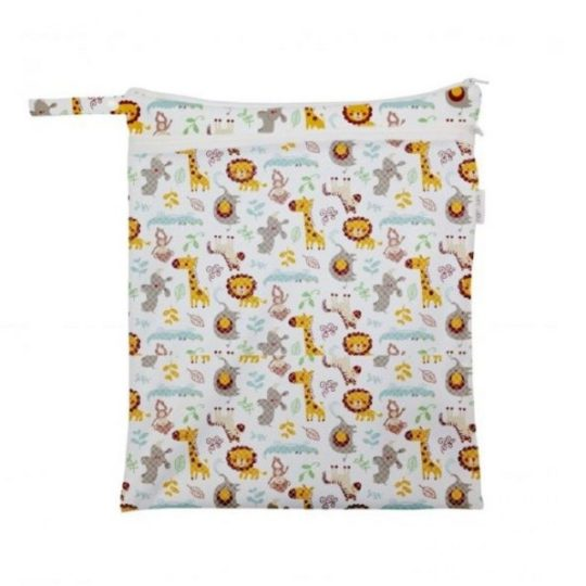 Sac à couches avec zip polyester - Popolini