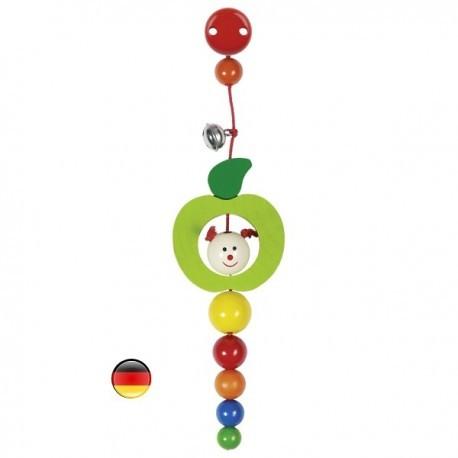 Clip Chenille dans une pomme - Heimess