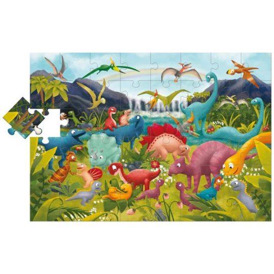 Puzzle Géant Dinosaures - Ludattica