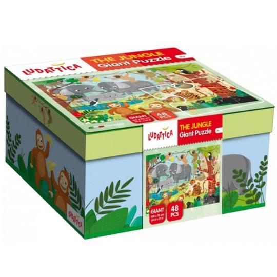 Puzzle Géant Jungle - Ludattica