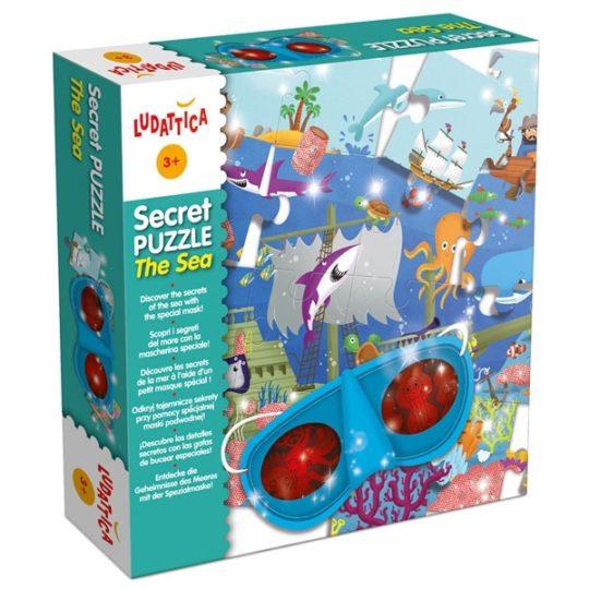 Puzzle Secret Mer - Ludattica