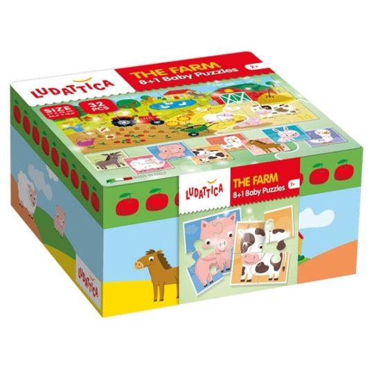 Puzzle Baby Ferme - Ludattica