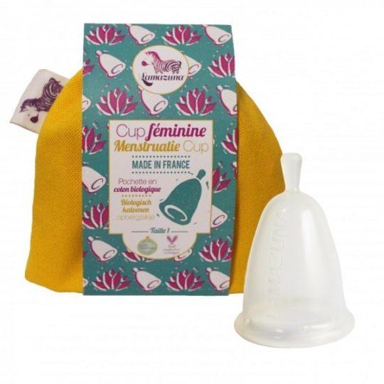 Cup féminine (coupe menstruelle) - Lamazuma