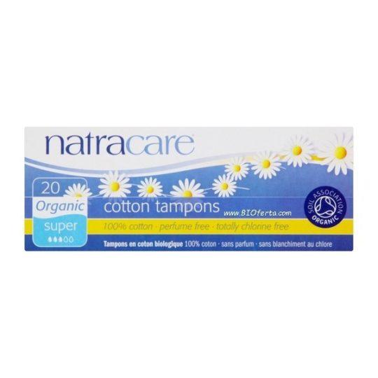 Tampons super sans applicateur - Natracare