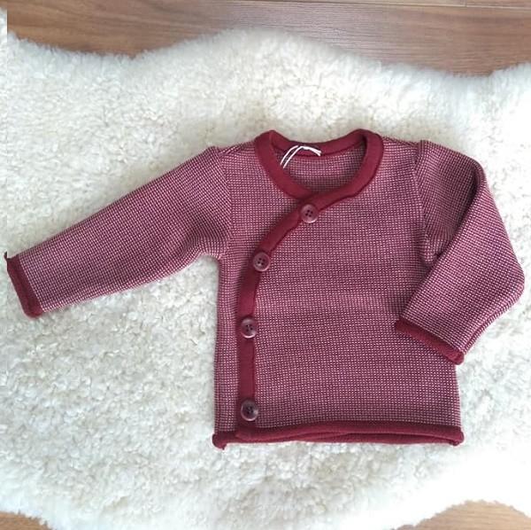 Brassière tricotée en pure laine vierge bio 50/56 cm - Disana