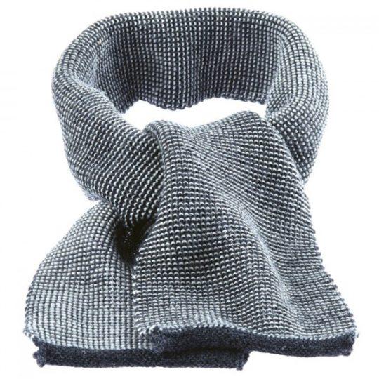 Echarpe tricotée en laine mérinos - Disana