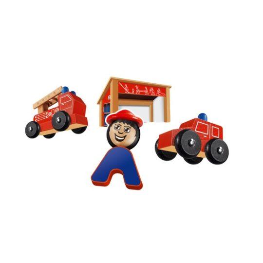 Caserne de pompier et véhicules - Nemmer
