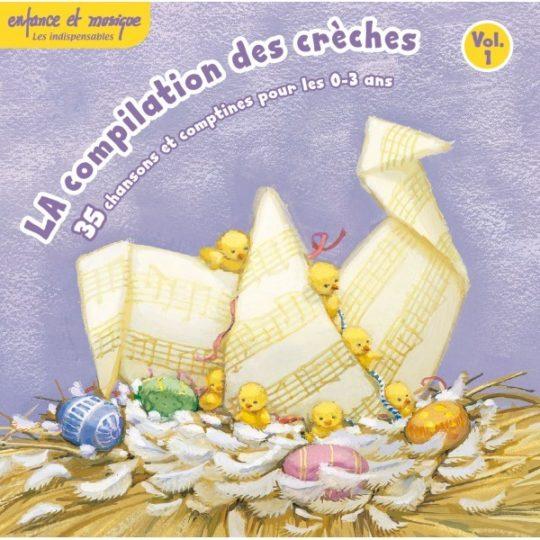 CD La compilation des crèches