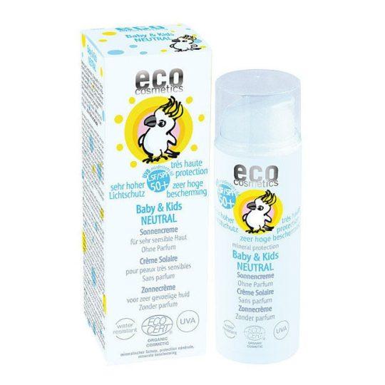 Crème Solaire Bébé SPF 50+ Neutral - 50 ml - ECO COSMETICS