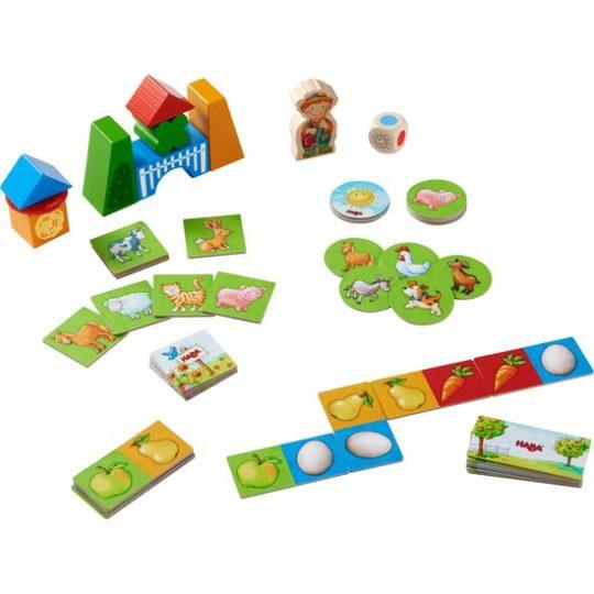 Mes premiers jeux – Collection de jeux La ferme - Haba