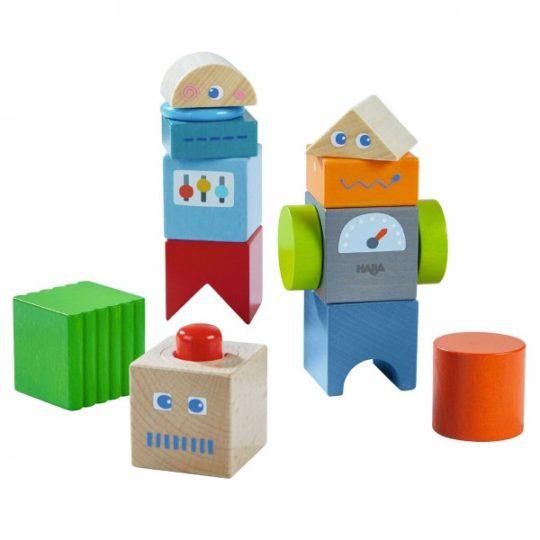 Blocs découverte Amis des robots - Haba