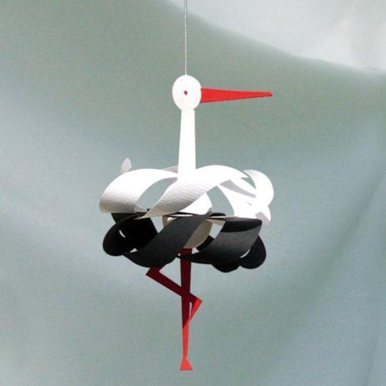 Mobile Cigogne - 25 cm - Livingly