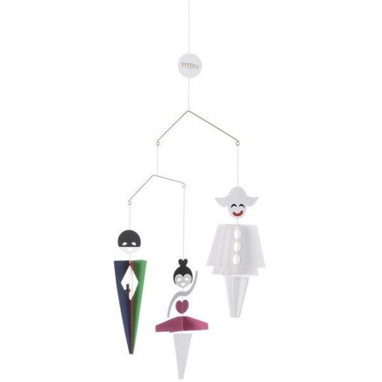 "Mobile ""Harlequin, Columbine & Pierrot"" - 34 cm - Livingly"