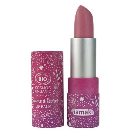 Baume à lèvres teinté rose léger - Framboise - Namaki