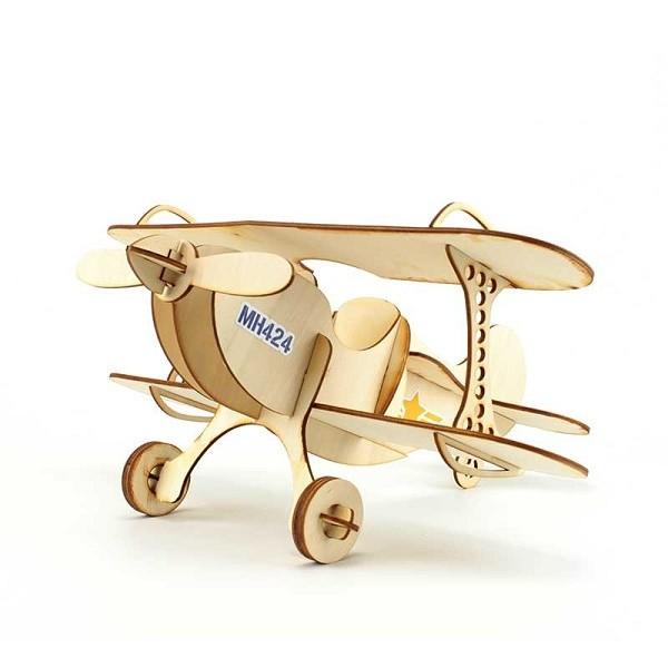 Avion en bois - Agent Paper
