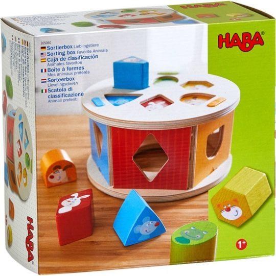 Boîte à formes Mes animaux préférés - Haba