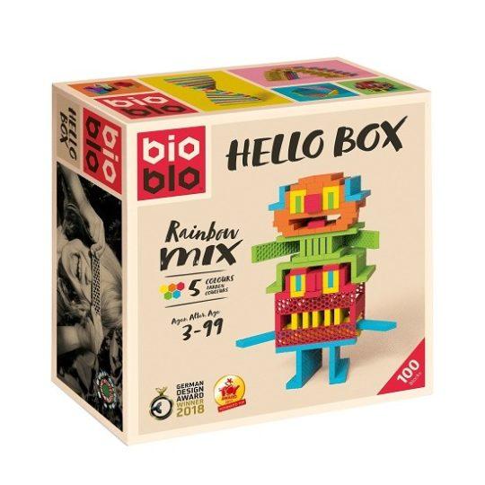 HELLO BOX 100 BRIQUES - Bioblo