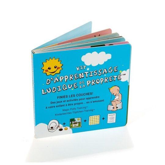 Kit d'apprentissage ludique de la propreté