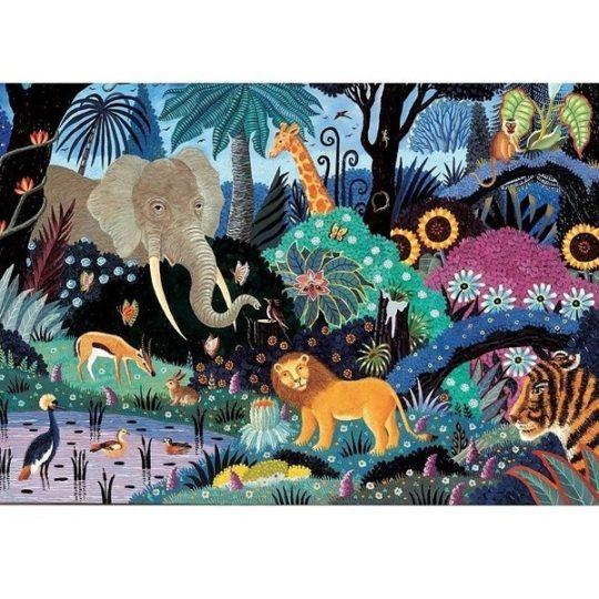 Puzzle en bois 100 pièces - Michèle Wilson