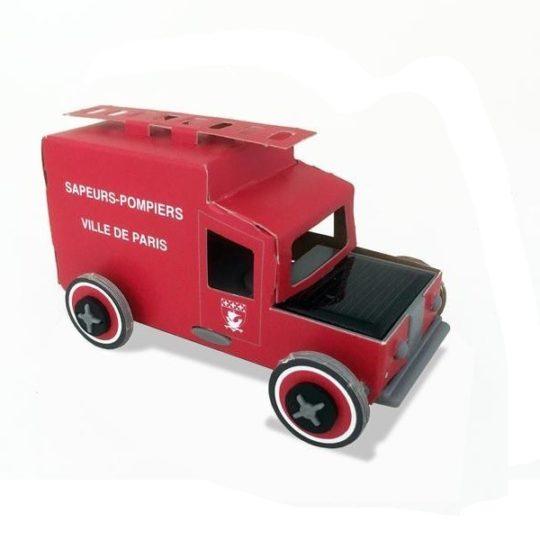 Camion pompiers de Paris Autogami - Litogami