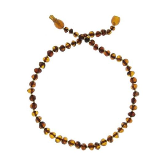 Collier d'ambre «coloris cognac» - Baltic Way