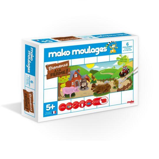 Bienvenue à la ferme - Mako moulages