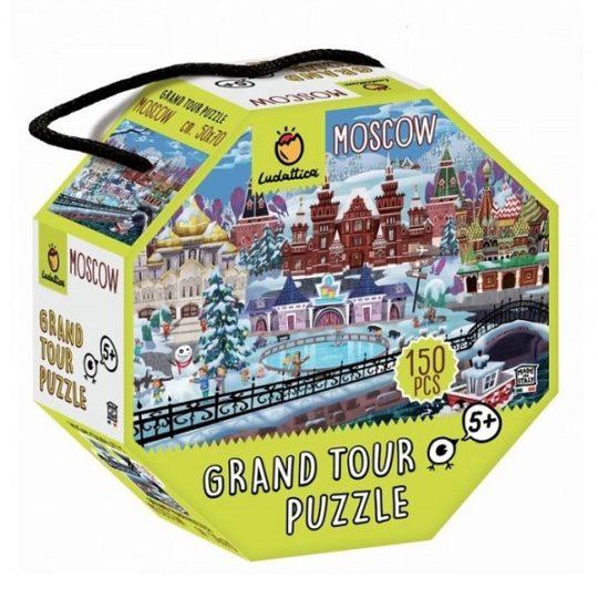 Puzzle 150 pièces Grand tour MOSCOW - Ludattica