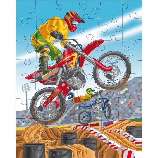 Puzzles 48 pièces Sports mécaniques - Haba