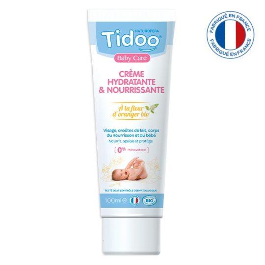 Crème hydratante et nourrissante bio 100ml - Tidoo