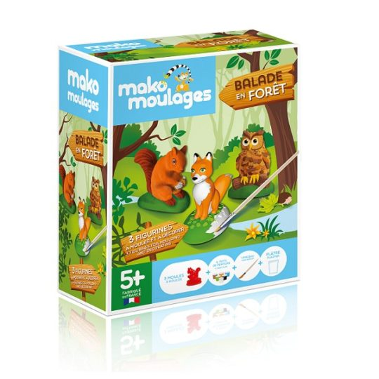 Balade en forêt - Mako moulages