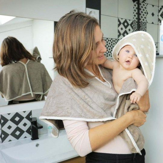 Sortie de bain astucieuse pour bébé - Néobulle
