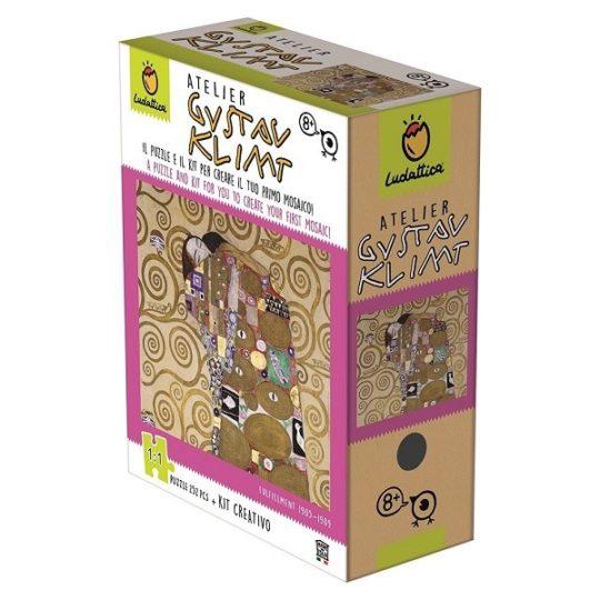 Atelier Klimt puzzle de 252 pièces et activité créative - Ludattica