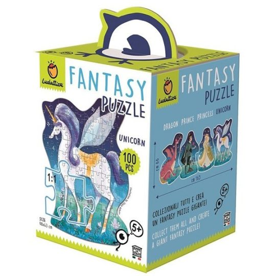 Puzzle Fantasy Licorne - Ludattica