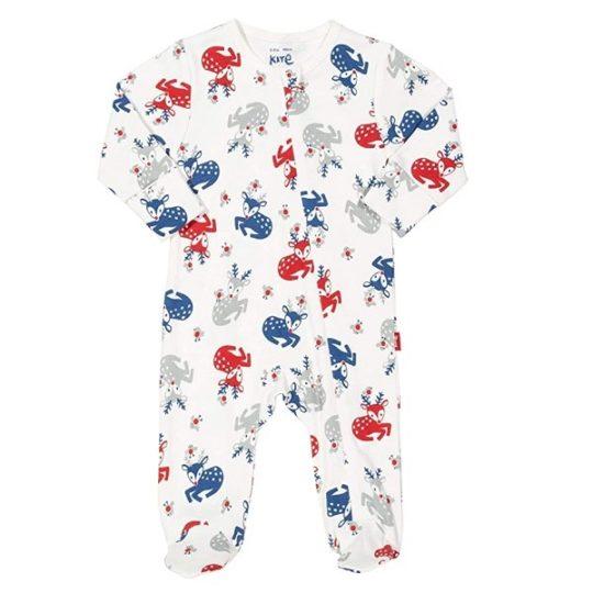 Pyjama en coton bio Rennes 0/3 mois - Kite kids