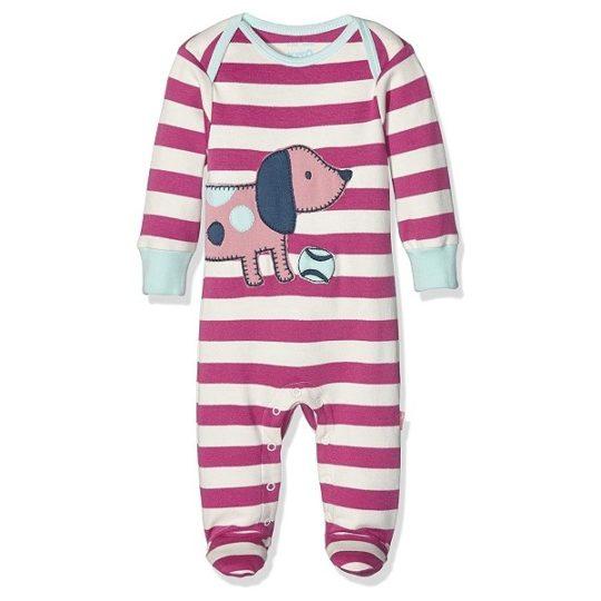Pyjama en coton bio Poissons 6/9 mois - Kite kids