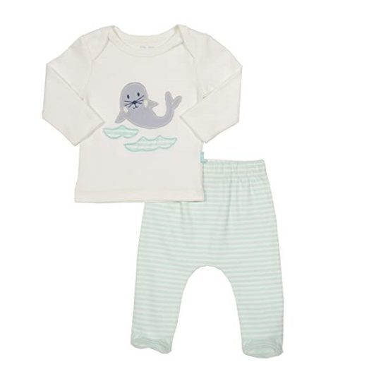 Ensemble en coton bio Newborn 56 cm - Kite kids
