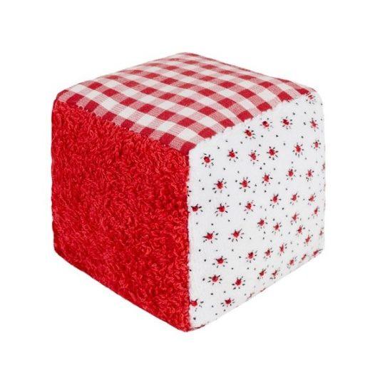 Doudou hochet Cube - Efie