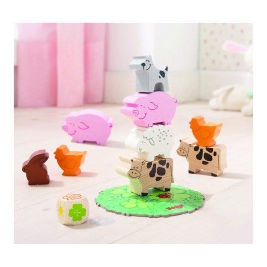Mes premiers jeux - Pyramide d'animaux Haba