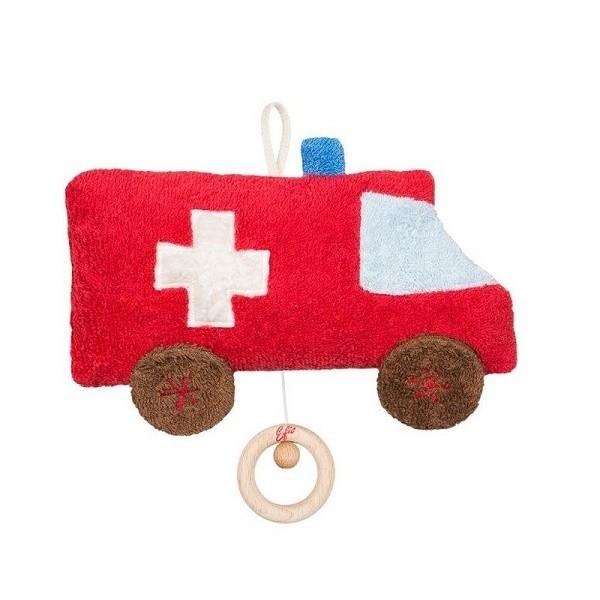 Doudou bio musical Ambulance - Efie